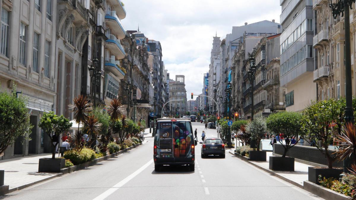 Calle Urzáiz.