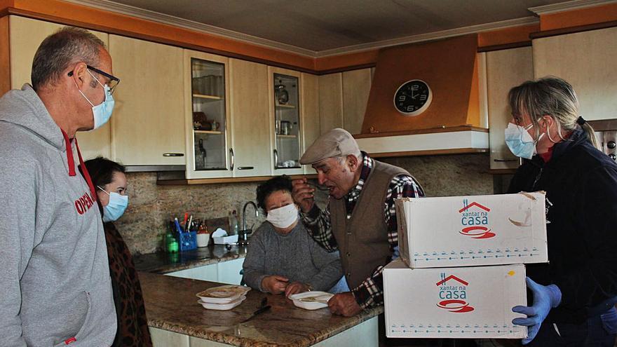 El servicio público de menús a domicilio de Nigrán duplica la demanda en 3 meses