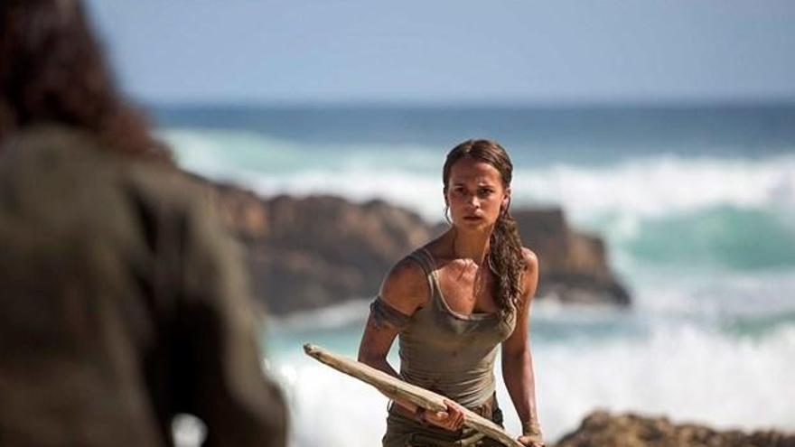 Finalitza el rodatge de la nova pel·lícula de 'Tomb Raider'