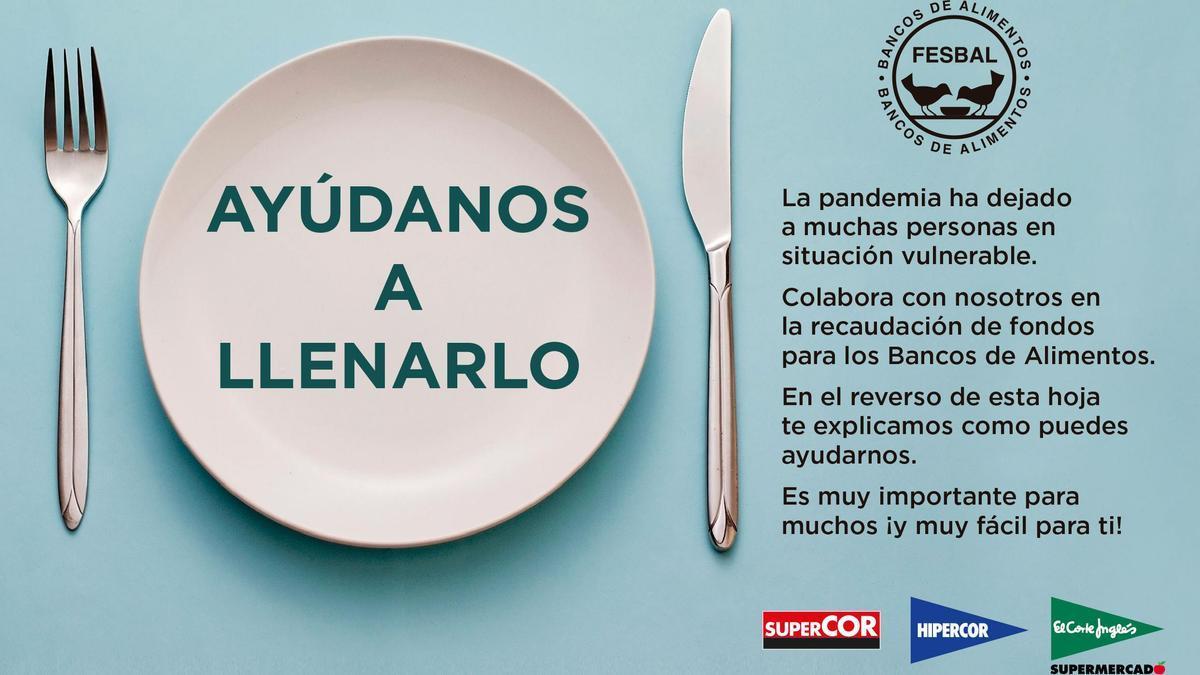 El Corte Inglés entrega 729.00.000 euros a los Bancos de Alimentos gracias a la Operación Kilo.