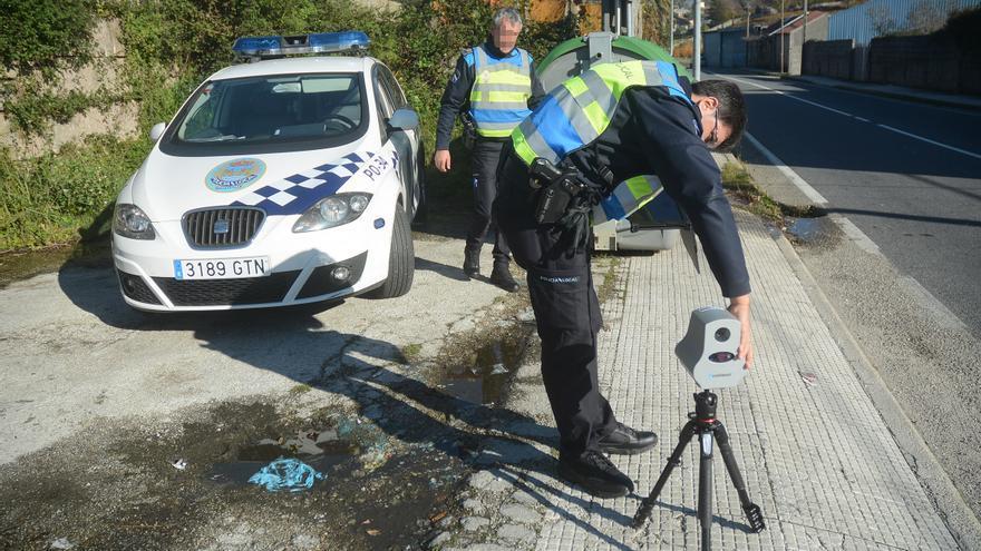 La primera jornada de controles de velocidad con radar deja una media de una denuncia cada 100 vehículos