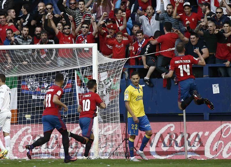 Liga Santander: Osasuna - UD Las Palmas