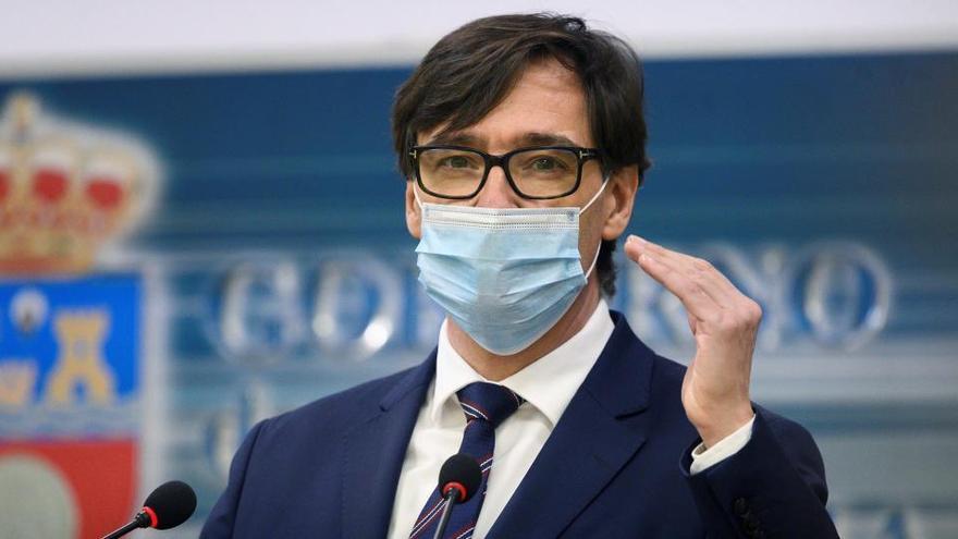 Illa dice que en junio estarán vacunadas 20 millones de personas en España