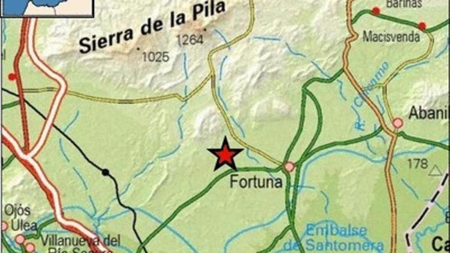Continúan los terremotos en Fortuna: el último, de 2,2 grados este domingo