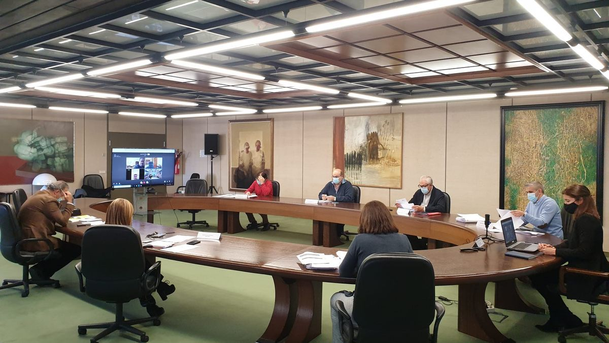 Reunión del CECOPI, Centro de Coordinación y Cooperación Integrada