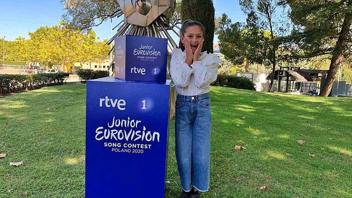La representante española en Eurovisión Junior, Soleá.