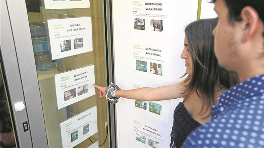 Castellón lidera la subida de los alquileres en la Comunitat