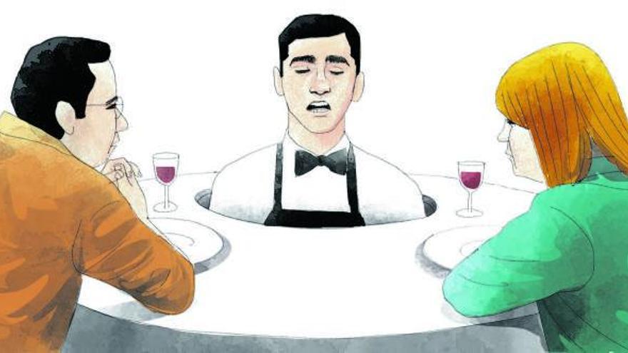Estrés en la mesa