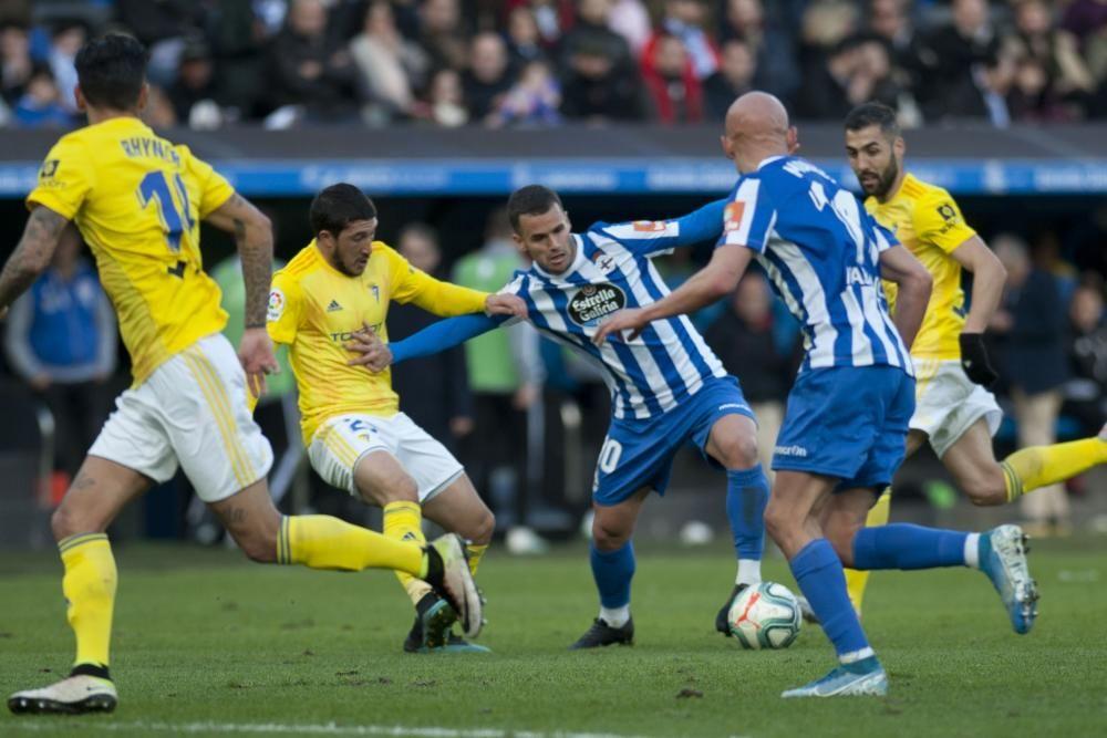 El Dépor le gana 1-0 al Cádiz