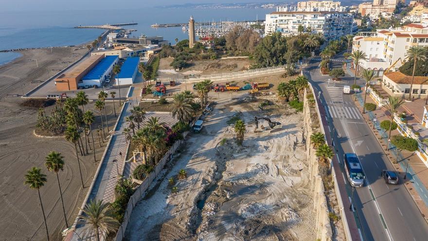 Estepona inicia las obras del proyecto que abrirá la ciudad al mar con la creación de un balcón al Mediterráneo
