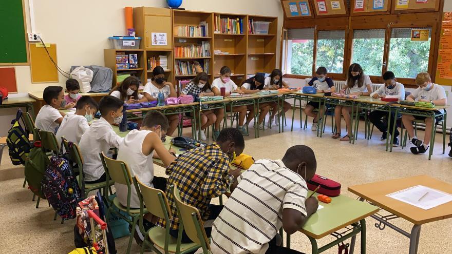 Augmenten a 8 els centres educatius gironins amb grups confinats el quart dia de curs