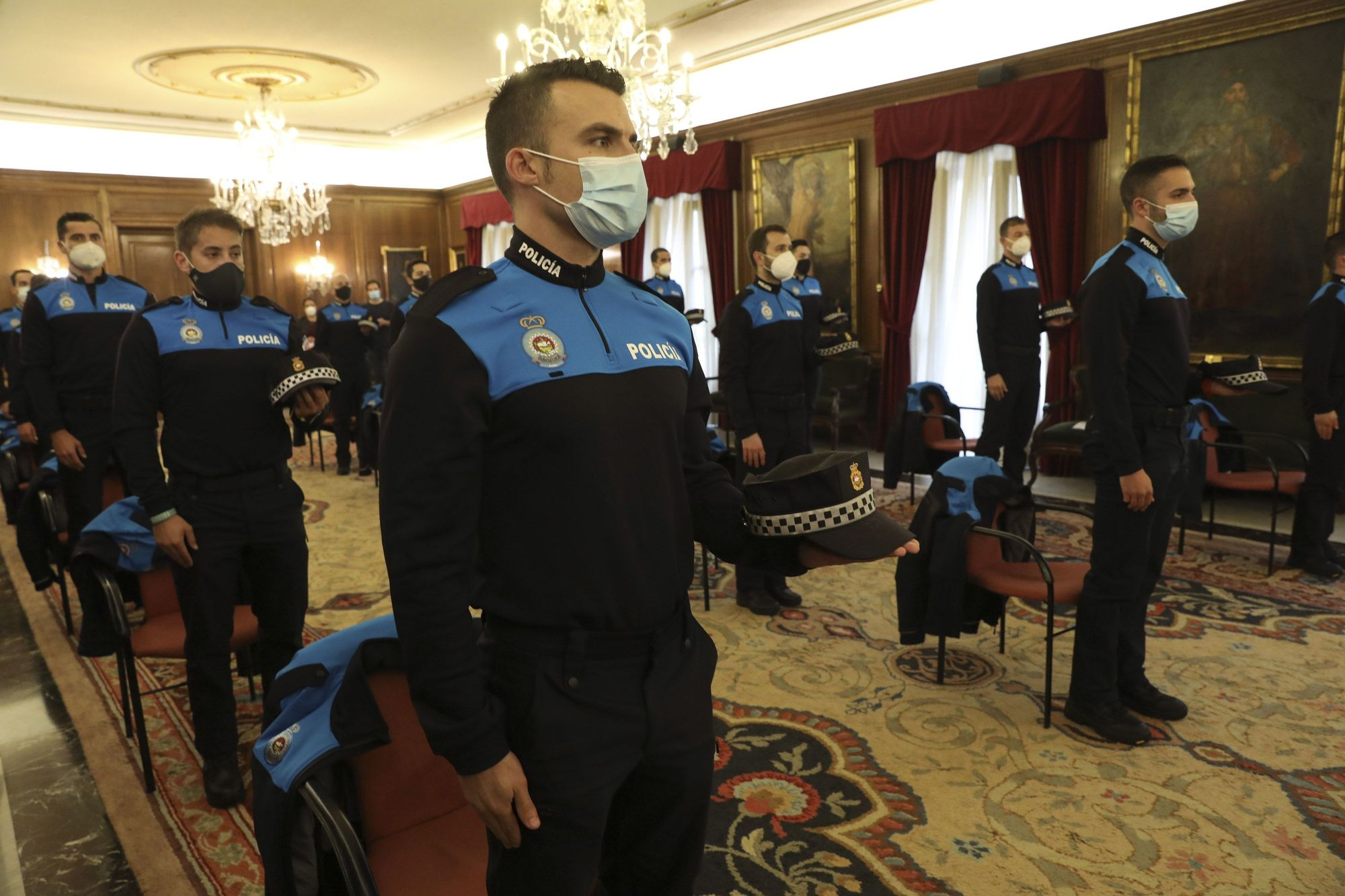 Toma de posesión de agentes de la Policía Local de Avilés