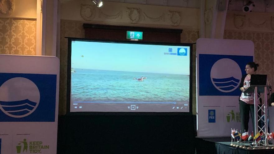 Sagunt se presenta como referente de seguridad en playas en Inglaterra