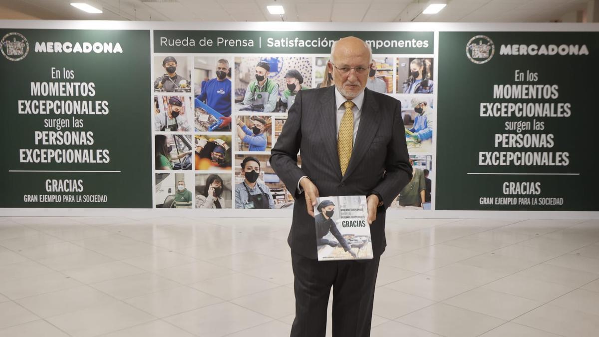 Joan Roig tras la presentación de resultados de la compañía