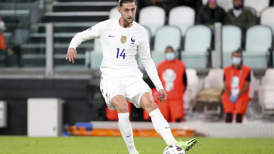 Rabiot da positivo por Covid-19 y se pierde la final de la Liga de Naciones