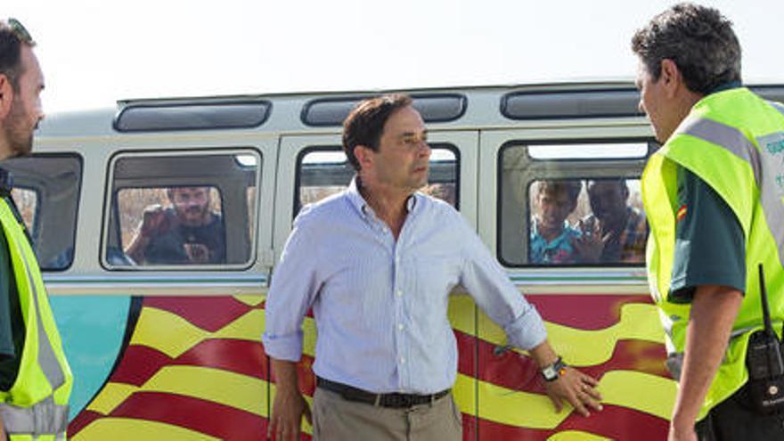 L'actor Jordi Sánchez surt de l'UCI un mes després d'ingressar per coronavirus