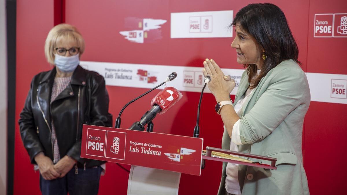 """Ana Sánchez reivindica el """"logro del PSOE"""" de paralizar el Plan de Aliste"""