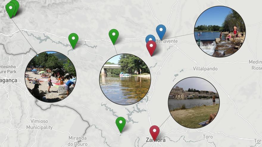 """Aguas """"excelentes"""" en las zonas de baño de Zamora: busca la playa que más te guste"""