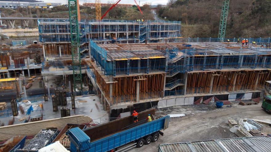 Las obras de construcción se disparan en Extremadura en el primer semestre del año