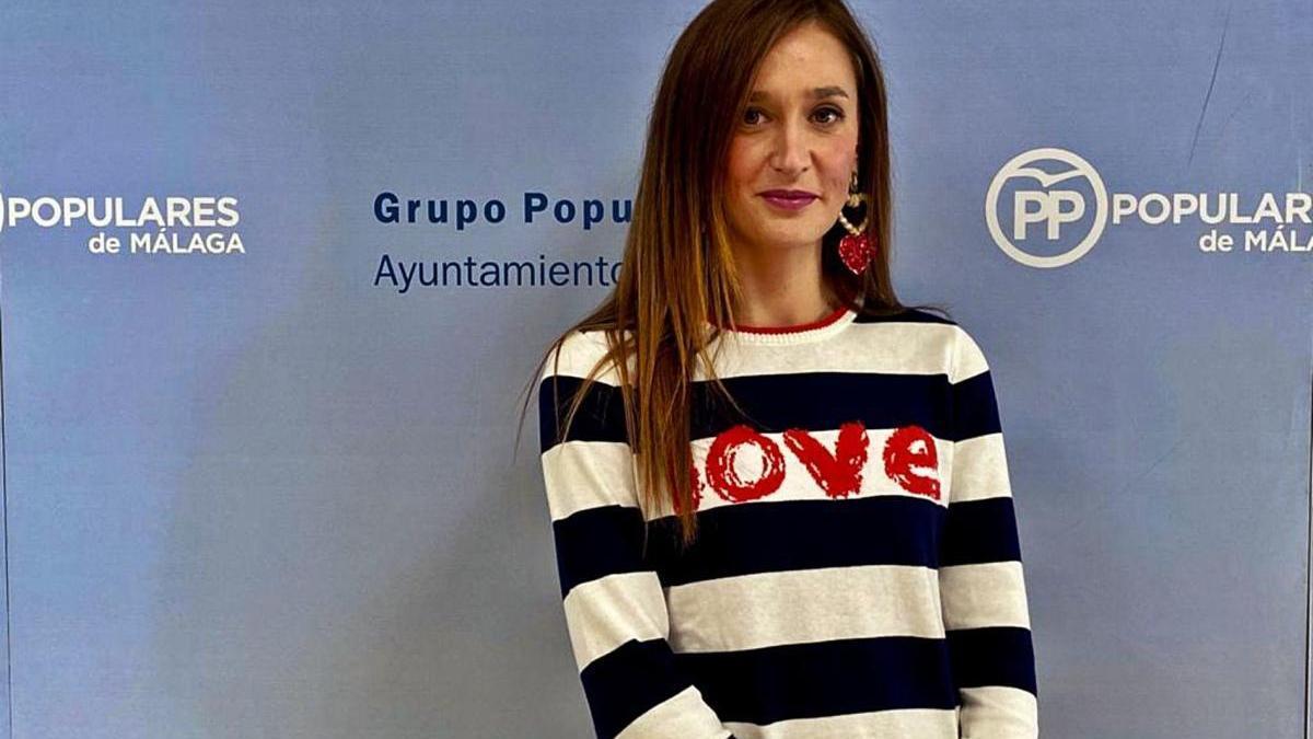 Elisa Pérez de Siles, portavoz municipal del PP.