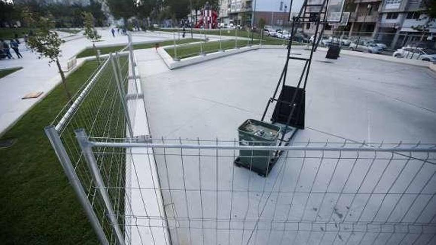 Vallan la zona deportiva de la remodelada alameda para completar el equipamiento