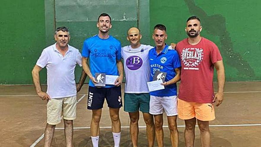 Iván Coro y Cristian Olalla ganan el Open de Frontenis de Calatorao