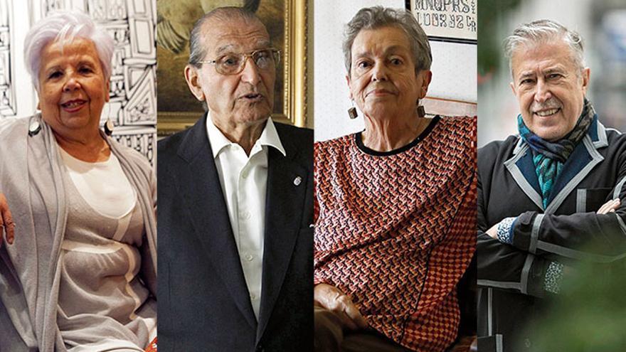 Oviedo homenajea mañana a Sagi, Ruiz-Tilve, Concha Quirós y Buylla