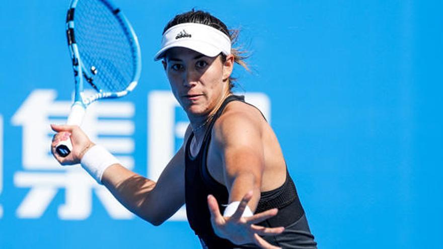 Muguruza, a semifinales en el torneo Shenzhen