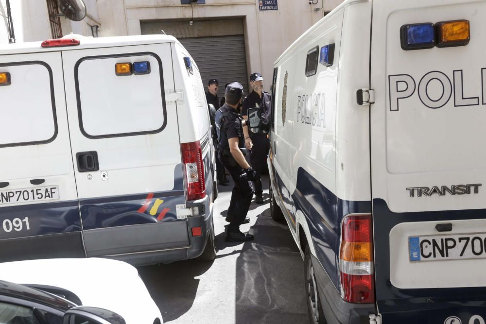 La 'Manada' de Santa Rita pasa a disposición judicial