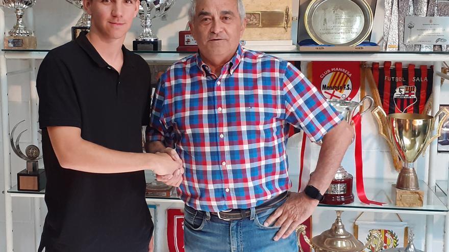 El Manresa FS incorpora el jove avinyonenc Marc Morral