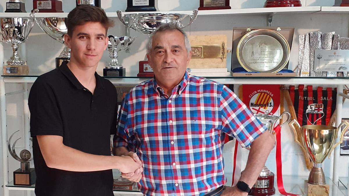 Marc Morral, nou fitxatge del Manresa FS