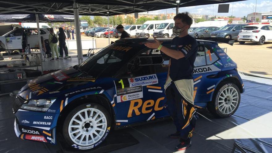 """""""Cohete"""" Suárez arranca la temporada ganando  el rally de Sierra Morena"""