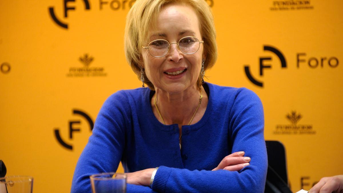 La escritora asturiana Blanca Álvarez