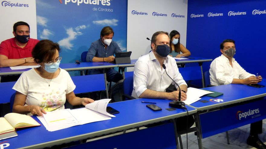 """Molina afirma que el PP es """"un partido unido con el mejor proyecto para España, Andalucía y Córdoba"""""""
