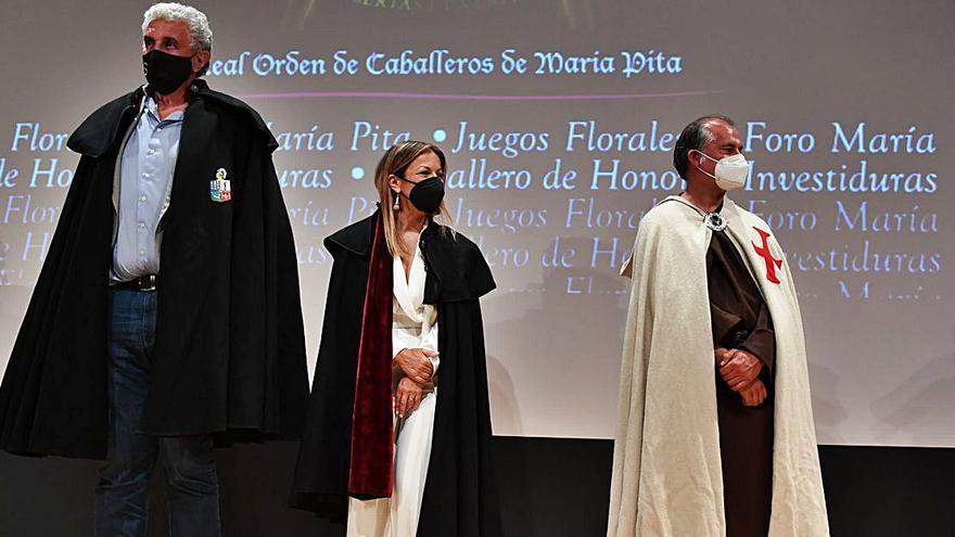 Isabel Blanco y Romay, emisarios del Camino