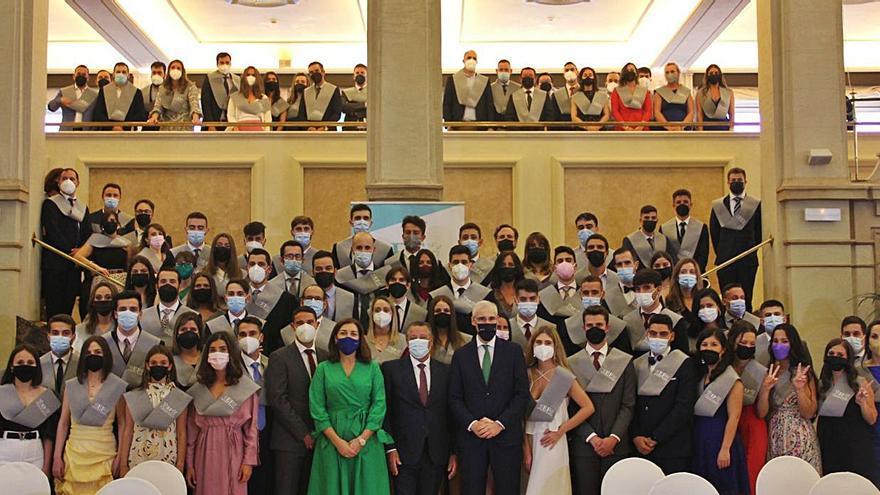 Graduación de alumnos de EF Business School