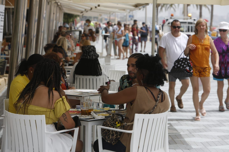 Alerta roja por altas temperaturas en Alicante