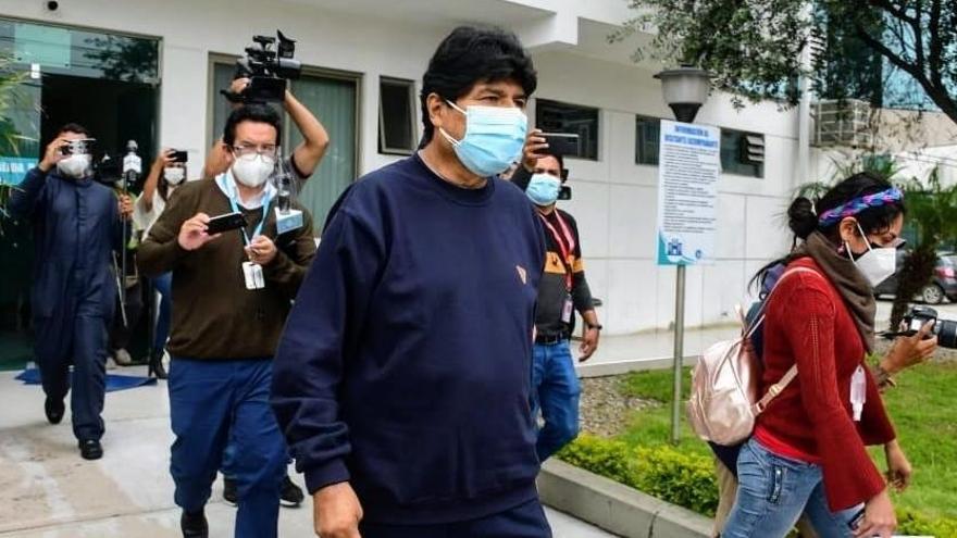 Evo Morales recibe el alta tras doce días ingresado por coronavirus