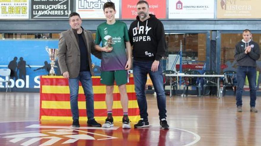Éxito del Unicaja infantil en la I Copa Sant Vicenç de Montalt