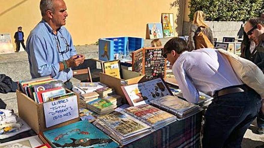 Tintín i el seu univers agafen el protagonisme a Begur