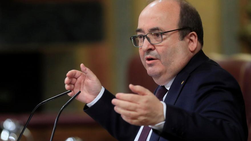 """Iceta garantiza que dialogarán con Cataluña """"sin límites"""", pero rechaza la autodeterminación"""