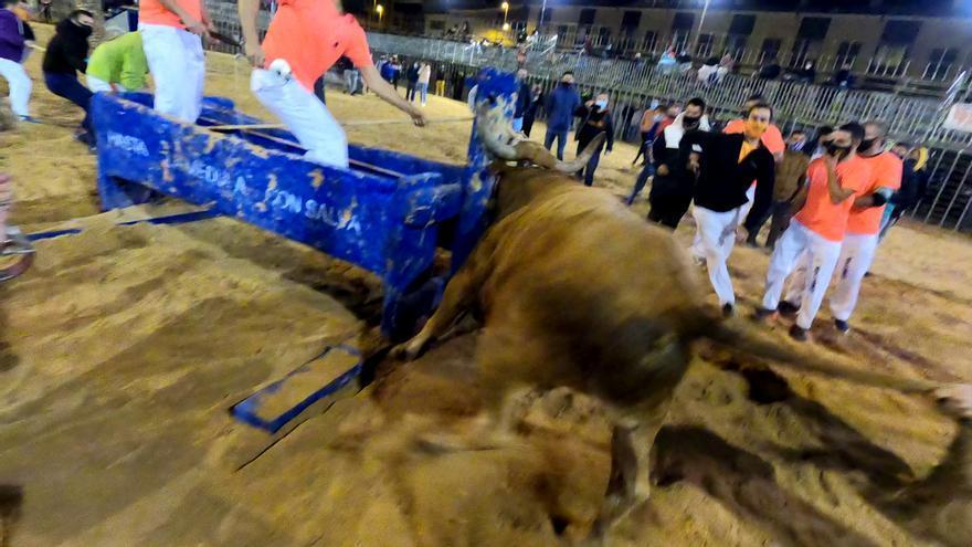 La polémica por el 'bou embolat' de Vila-real pese al covid, visto desde la plaza
