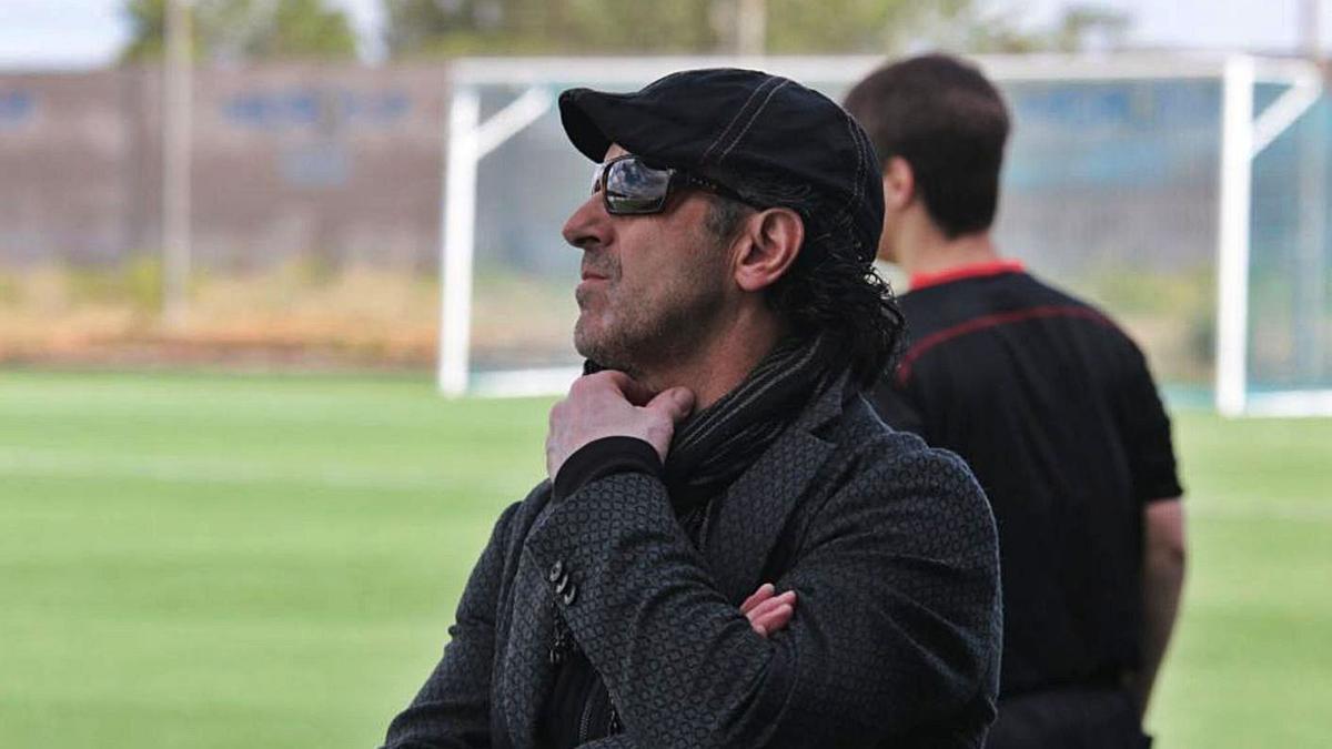 Jesús Benito, durante un partido |  José Luis Fernández