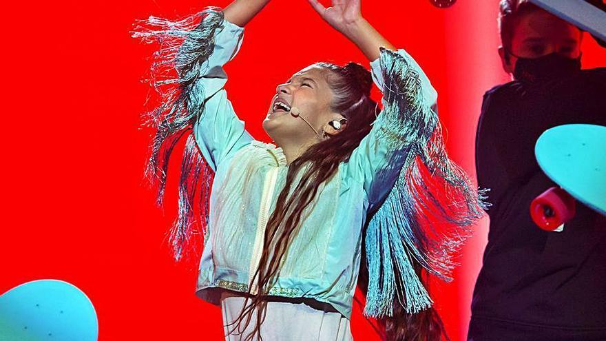 """Soleá consigue la tercera posición en Eurovisión Júnior 2020 con """"Palante"""""""