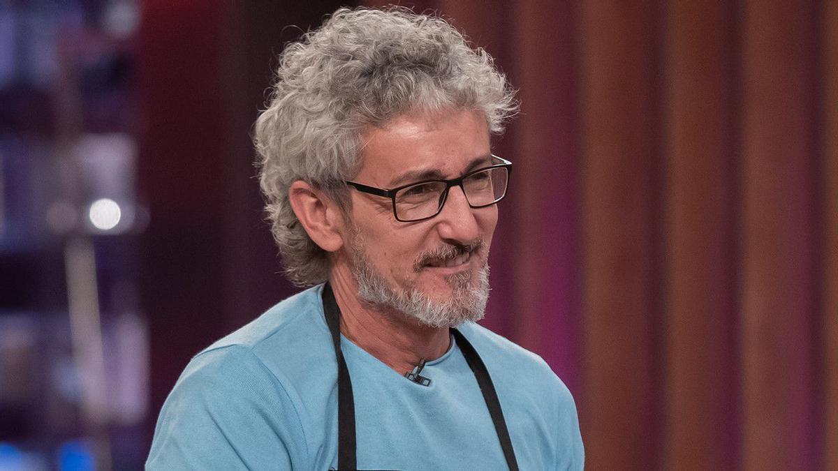 David Fernández, primer expulsado de 'Masterchef Celebrity 5'.