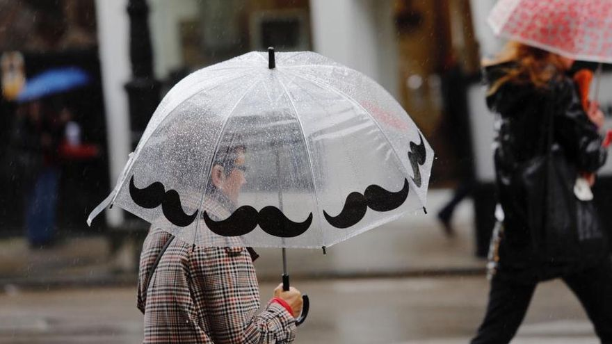 """La borrasca """"Bárbara"""" dejará lluvias intensas y vientos huracanados al menos hasta el jueves"""