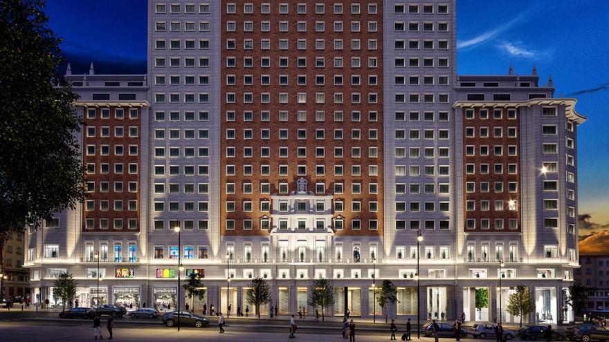 Inditex abrirá Zara, Zara Home y Stradivarius en el Edificio España de Madrid