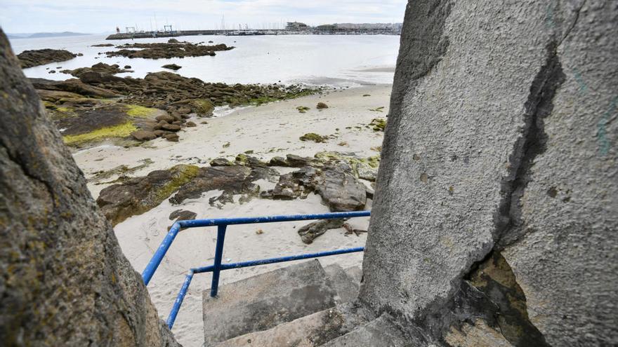 Nauta propone a la empresa Marcor Xove para regenerar la playa A Carabuxeira