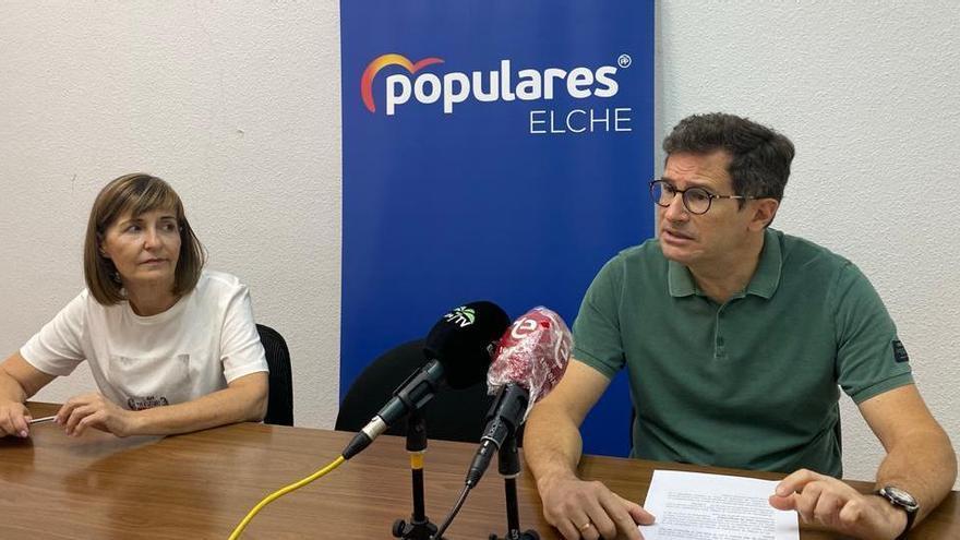 El PP de Elche pide un cambio de ubicación del colegio Virgen de la Luz por estar en terreno inundable