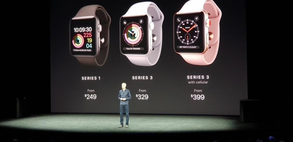 Así queda la gama de precios del Apple Watch en EEUU.
